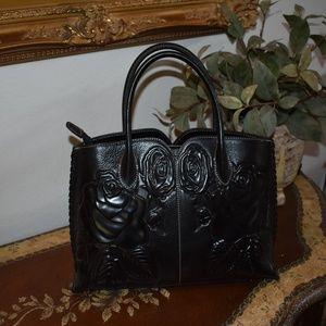 PIJUSHI Designer Floral Women's Handbag